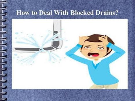 Specialized drain cleaning services | Block drain blocked drains in Glasgow | Scoop.it