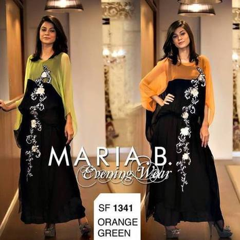 Maria B New Designs Evening Wear Cotton Collection   Fashion Website   Scoop.it