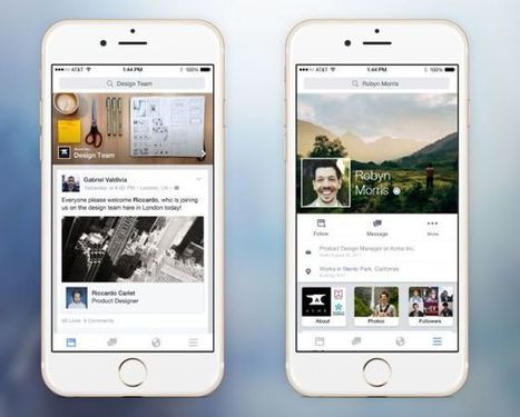 Facebook targets the business world with Work - AdNews | Peer2Politics | Scoop.it