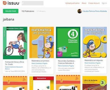 Libros y recursos académicos en ISSUU | Personal [e-]Learning Environments | Scoop.it