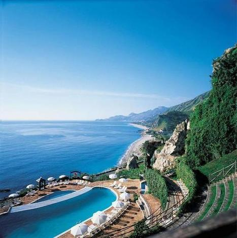 Twitter / firstworldpics: Taormina on the coast of Sicily, ... | Movin' Ahead | Scoop.it