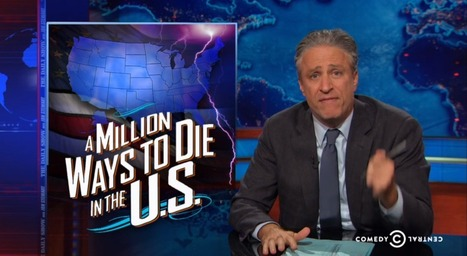 Jon Stewart reminds us it's climate change that'll kill us, not ebola or ISIS   Sustain Our Earth   Scoop.it