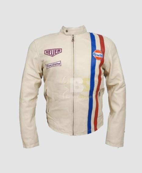 Emulsion Steve McQueen Grand Prix Jacket to somewhat desire look   Steve Mcqueen Jackets   Scoop.it