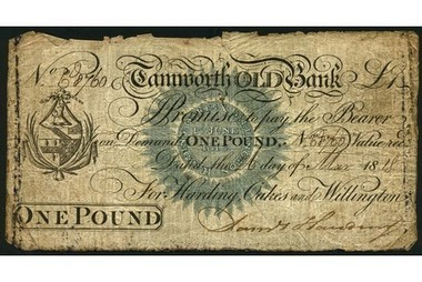 What price for these rate bank notes from historic Tamworth? - This is Tamworth | Payment Methods | Scoop.it