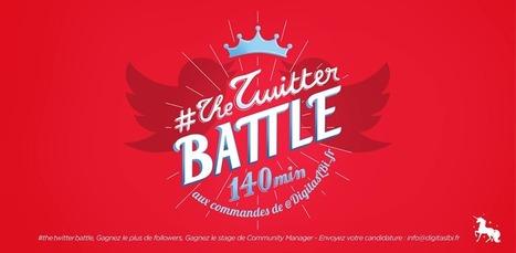 The Twitter Battle : une compétition sur Twitter pour être pris en stage | Etourisme et webmarketing | Scoop.it