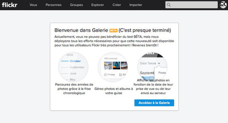 Flickr lance Galerie / Camera Roll en version Bêta, sa nouvelle interface pour consulter et organiser ses photos - Geeks and Com' | Web Design et Digitale outils | Scoop.it