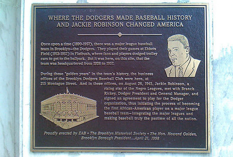 Reminders of Jackie Robinson's resonance in Brooklyn and beyond - SI.com   Teaching History for Inquiry Project   Scoop.it