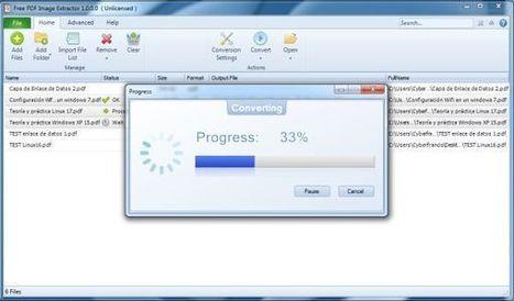 Free PDF Image Extractor nos permitirá extraer las imágenes de archivos PDF de una sola vez | VIM | Scoop.it