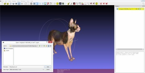 How to Fix and Repair Your 3D Files Using Meshlab and Netfabb - Shapeways | Research_topic | Scoop.it