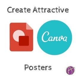 Create Posters to Clearly Communicate Ideas - Teacher Tech | Into the Driver's Seat | Scoop.it