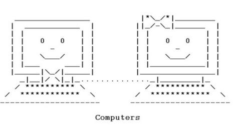 How to Stop Emoticon Addiction | ASCII Artist | ASCII Art | Scoop.it