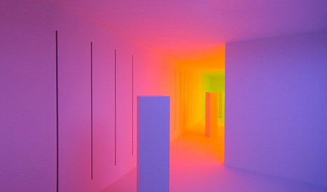 interactive chambers of color - chromosaturation by carlos cruz-diez | VIM | Scoop.it