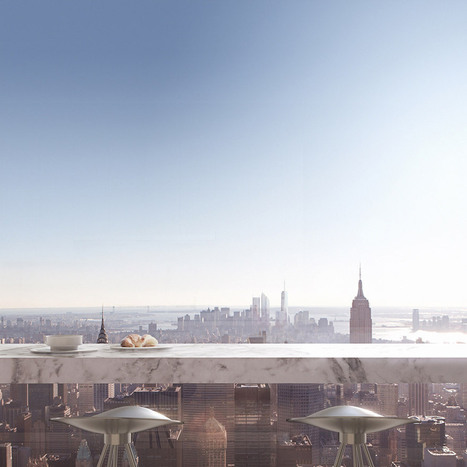 What It's Like To Live In A $95-Million Penthouse 1,396 Feet Above New York City | Kenyon Clarke 's Luxury Likes | Scoop.it