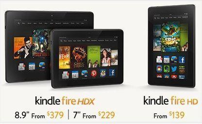 New Kindle Fire HDX - Plus Free Kindle eBooks   Books Gateway   Scoop.it