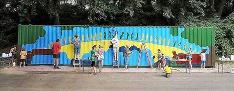 Dragon mural comes to life in Riverfront Park in Norristown - The Times Herald | Paddler News | Scoop.it