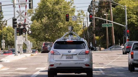 Google fine tunes its self-driving car for city streets | leapmind | Scoop.it