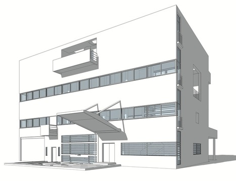 Le Corbusier Redrawn The Houses SooJin (Steven)... | Contemporary Architecture | Scoop.it