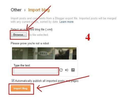 How to Restore your Blogger Blog Posts from Backup « Blogging Tips and Tricks - Techrainy | Techrainy | Scoop.it