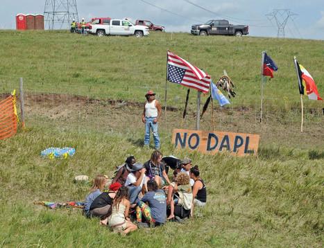 In North Dakota, people vs. oil pipeline protest strengthens | Deconstructing Tribalism | Scoop.it
