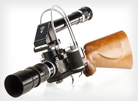 Le sniper-photographe a son gadget : le New York Leica Gun Rifle | What's new in Visual Communication? | Scoop.it