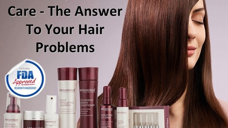 Keranique: Powerful Hair Loss Therapy for Women | life & fashion | Scoop.it