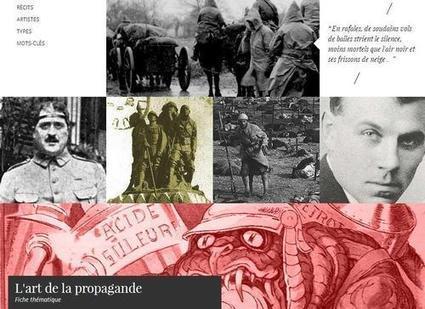 """Webdocumentaire : """"14-18 La Grande Guerre à travers les arts""""   La Première Guerre mondiale : Le Centenaire   Scoop.it"""