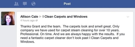 I Clean Carpets & Windows | Carpet Cleaning Adelaide | Home Improvement | Scoop.it