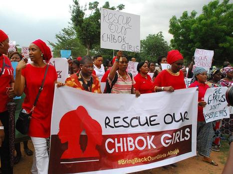 International Day of the Girl Child: Search for the Nigerian schoolgirls kidnapped by Boko Haram continues   Children First   Scoop.it