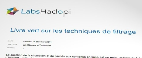 Les labs Hadopi avancent vers un filtrage contrôlé par l'abonné. un filtrage imposé VS un filtrage volontairemnet subi   L'actualité de la filière Musique   Scoop.it