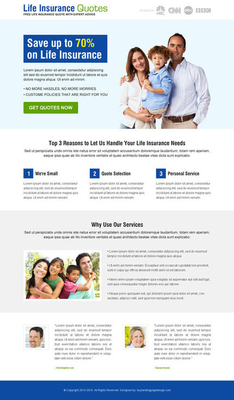life-insurance-quotes-res-lp-design-01 | Life Insurance responsive landing page design preview. | responsive landing pages | Scoop.it