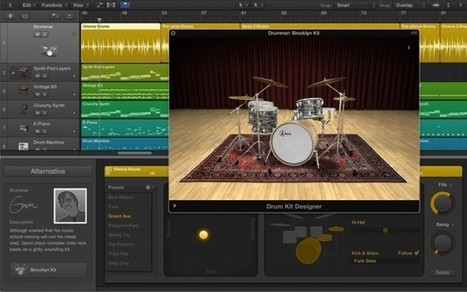 Apple Unveils Logic Pro X: Complete Overhaul of the Professional Audio Editing Application | D.A.W.'s | Scoop.it