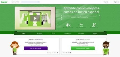 Teachlr: plataforma de cursos online al alcance de todos | + TIC y + educación para todos | Scoop.it