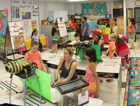 A Picture Of A Busy Elementary Classroom | Banco de Aulas | Scoop.it