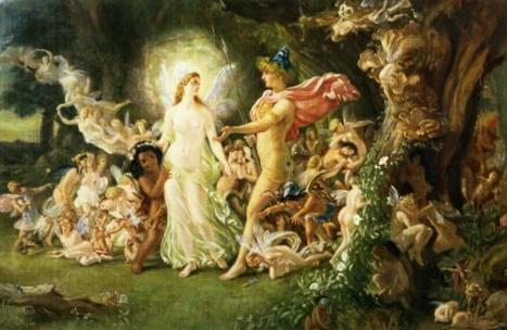 A Midsummer Night's Dream: Anamorphism and Theseus' Dream | Amanda's A Midsummer Night's Dream | Scoop.it