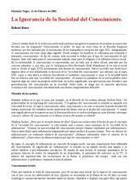 Robert Kurz - La ignorancia de la sociedad del conocimiento | TIC y TRIC | Scoop.it