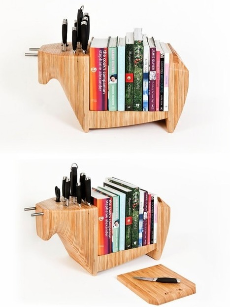 15 Bookshelf Designs to Wake Your Inner Bookworm | Book Shelves | Scoop.it