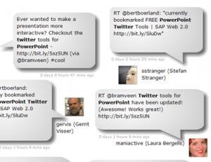 Powerpoint twitter integration SAPtools!!!   SchooL-i-Tecs 101   Scoop.it