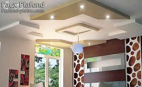 Tendances des idées de faux plafond design moderne | Faux plafond en forme d'un papillon | Scoop.it