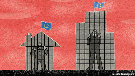 The euro zone is blighted by private debt even more than by government debt - The Economist   Economics   Scoop.it