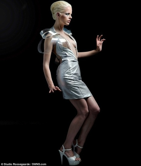 'Intimacy 2.0′ Dress Turns Transparent When You're Turned On [Video] | Vidi Fashion Factory (VIFF) | Scoop.it