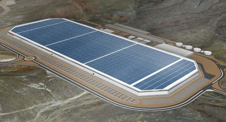 Tesla Gigafactory progressing ahead of schedule?   Energy & Sustainability   Scoop.it