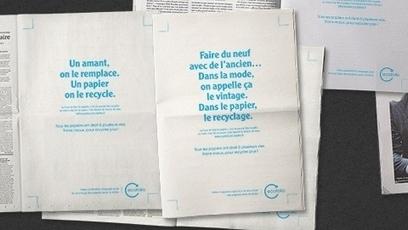 Campagne presse recyclage : 3ème ! | GraphiCONSEIL | Scoop.it