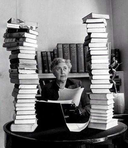 Agatha Christie at work | books, manuscripts and old prints | Scoop.it