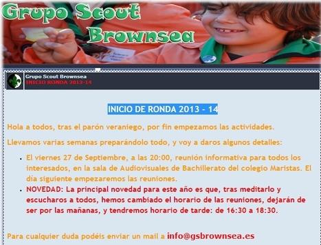 Scouts: Ronda Solar 13-14. Cambio de horario.   mapuntocom   Scoop.it