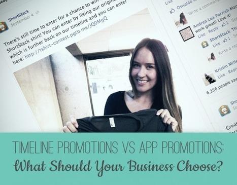 Timeline Promotions vs App Promotions: What Should Your Business Choose? | Social Media, SEO, Mobile, Digital Marketing | Scoop.it
