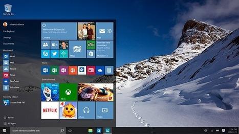 Todo lo que sabemos sobre Windows 10 antes de lanzamiento | Las TIC en el aula de ELE | Scoop.it