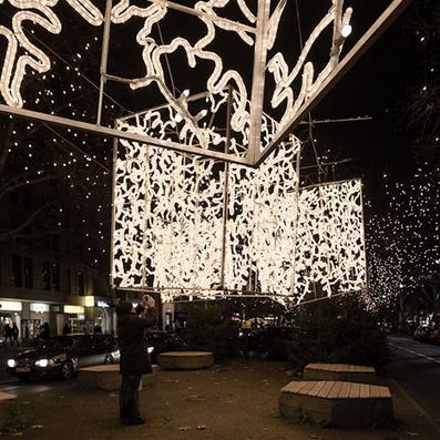 Berlin Christmas lights by Brut Deluxe | PROYECTO ESPACIOS | Scoop.it