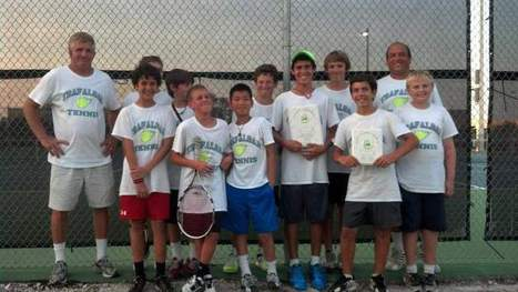 Trafalgar, Three Oaks net tennis championship titles - Lehigh Acres News Star | Sports Ethics: Walker, P. | Scoop.it