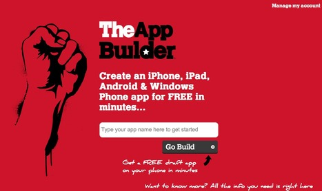 TheAppBuilder | MOBILE LEARNING USER FRIENDLY | Scoop.it