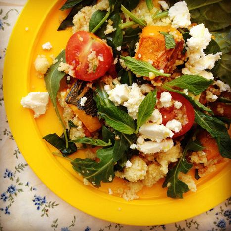 roast pumpkin & feta couscous salad | Recipes | Scoop.it